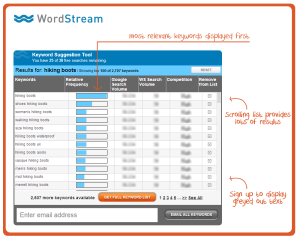 wordstream-keyword-tool-demo